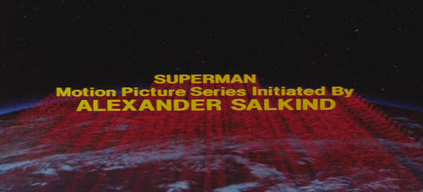 Superman motion picture series initiated by Alexander Salkind